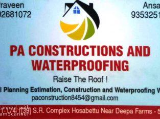 PA CONSTRUCTION & WATERPROFING