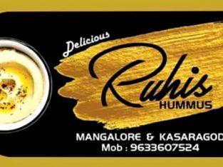 Delicious RUHIS HUMMUS