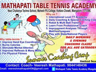 MATHAPATI TABLE TENNIS ACADEMY