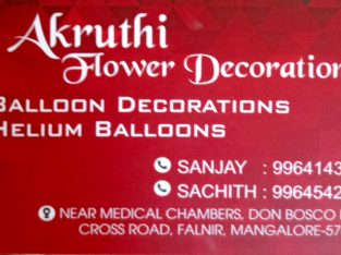 FLOWER DECORATORS IN MANGALORE