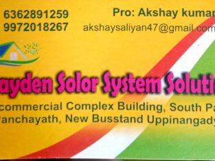 AAYDEN SOLAR SYSTEM SOLUTION