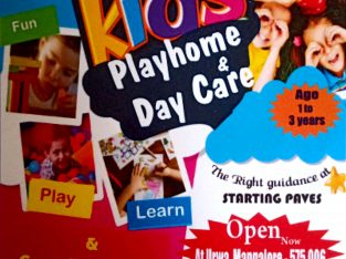 BLESSED KIDS PLAYHOME & DAYCARE