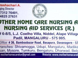 MOTHER HOME CARE NURSING AND NURSING AID SERVISES(R)