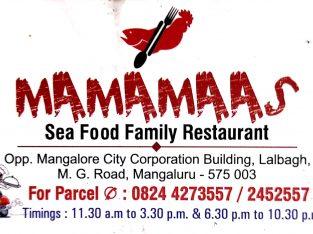 MAMAMAAS (Sea Food Family Restaurant)