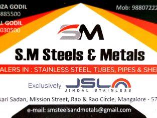SM STEELS & METALS