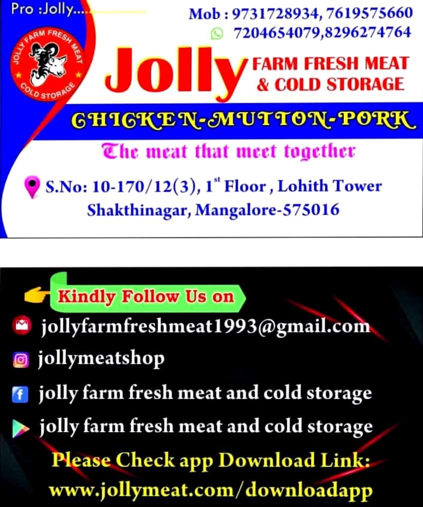 JOLLY FARM FRESH MEAT & COLD STORAGE