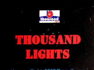 THOUSAND LIGHTS