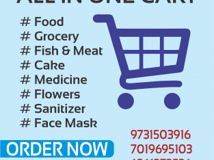 KUDLAS MEEN DELIVERY ( All In One Cart)