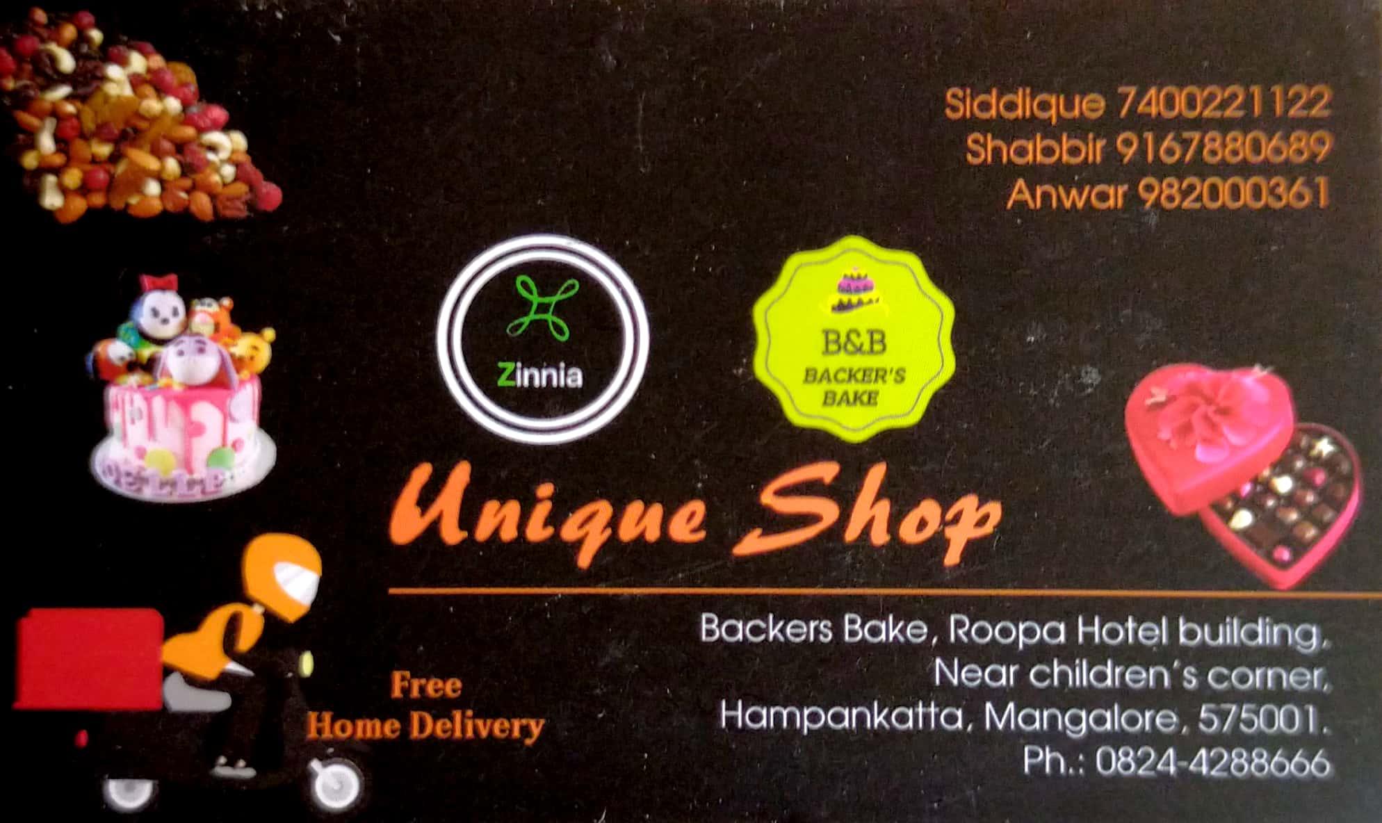 UNIQUE SHOP( BAKERS BAKE)