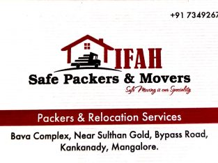 IFAH SAFE PACKERS & MOVERS