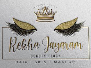 REKHA JAYARAM BEAUTY TOUCH PROFESSIONAL