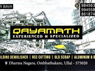 QAYAMATH ( OLD BUILDING DEMOLISHER)